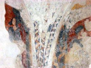 Fresque de la chapelle du Pont