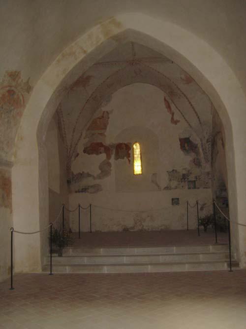 Intérieur de la Chapelle du Pont