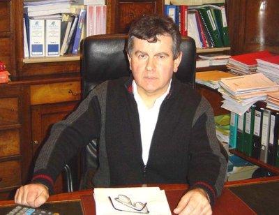 Jacques Caumon, maire de Leynhac