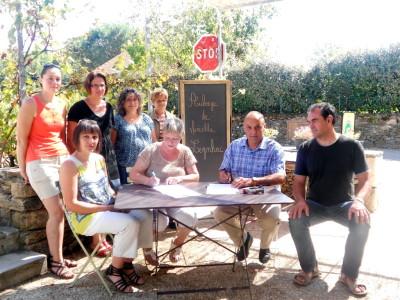 Signature convention de restauration 2014