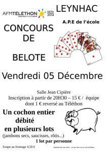 Belote APE 2014