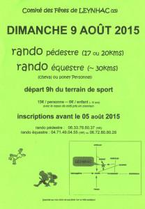 Randonnée août 2015 Leynhac Cantal