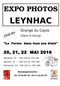 Expo photos Boguart Leynhac 2016